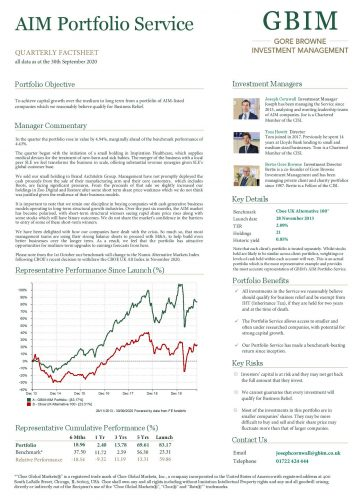 AIM Portfolio Factsheet Q3 2020
